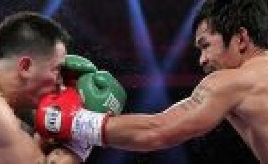 A Pacquiao-Rios küzdelem