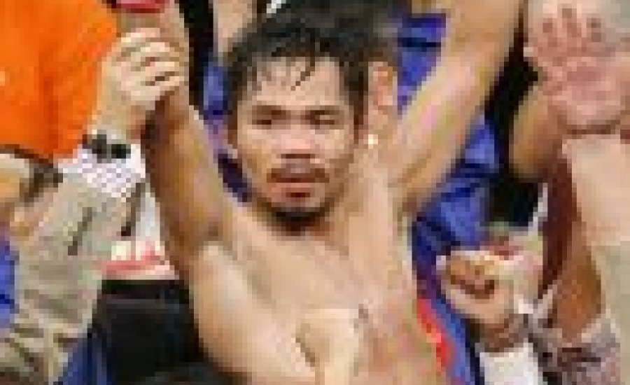 Sikeres volt a Hatton-Pacquiao meccs